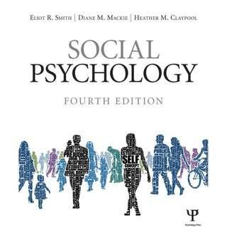 Social Psychology 4th Edition