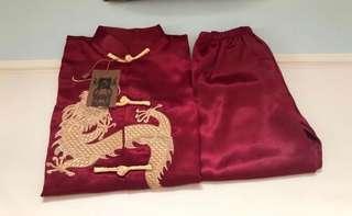 全新 嬰幼兒中國服套裝