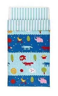 Ikea Barnslig Natten Quilt Cover & Pillow Case Set