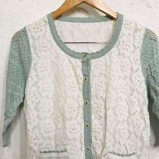 Vintage Knitted Cardigan 🎀