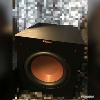 Klipsch Reference R-10SW Subwoofer Atoms Speaker