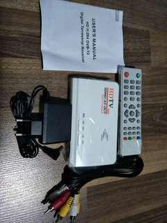Digital terrestrial receiver + antenna