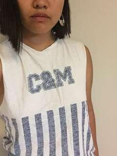 Camilla and Marc C&M top