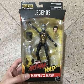 MISB Marvel Ant-Man & The Wasp Legends Series Wasp (Cull Obsidian BAF Captain America Iron Man Thor Hulk Black Widow Vision Scarlet Witch Spider-Man War Machine Thanos Avengers Infinity War Select)