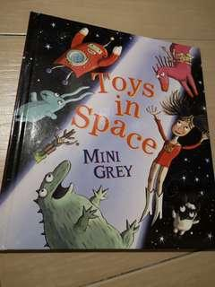 New Toys in Space Hardcover Children Story book