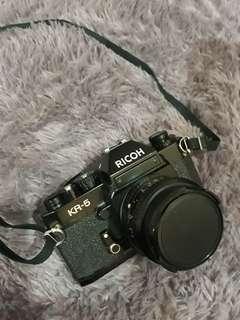 Ricoh KR-5 + Riconar 55mm f2.2