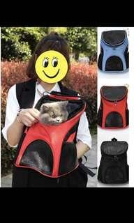 Pet backpack (ransel anjing / kucing)