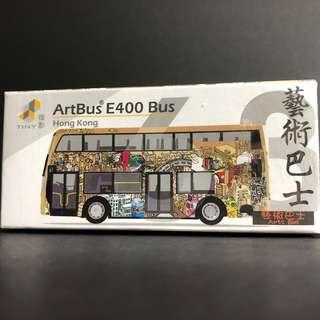 Tiny 63 藝術巴士 E400 合金車仔