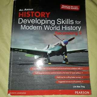 O level History Skills Book ( essay and source based)
