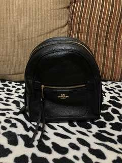 ORIGINAL coach black two way backpack