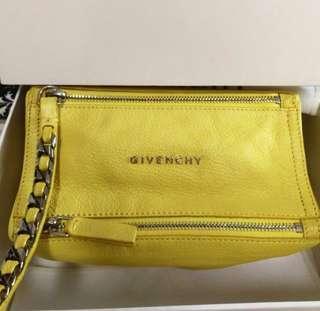 Authentic givenchy pandora wristlet pouch