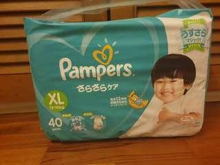 Pampers Baby Dry tape XL