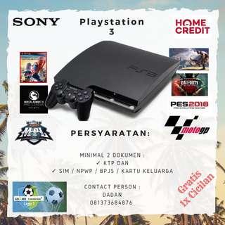 KREDIT Playstation 3 Free Full Games + 2 Stick PROMO Gratis 1x Cicilan