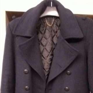 L號 48號款,韓貨中型羊毛外套 雙扣