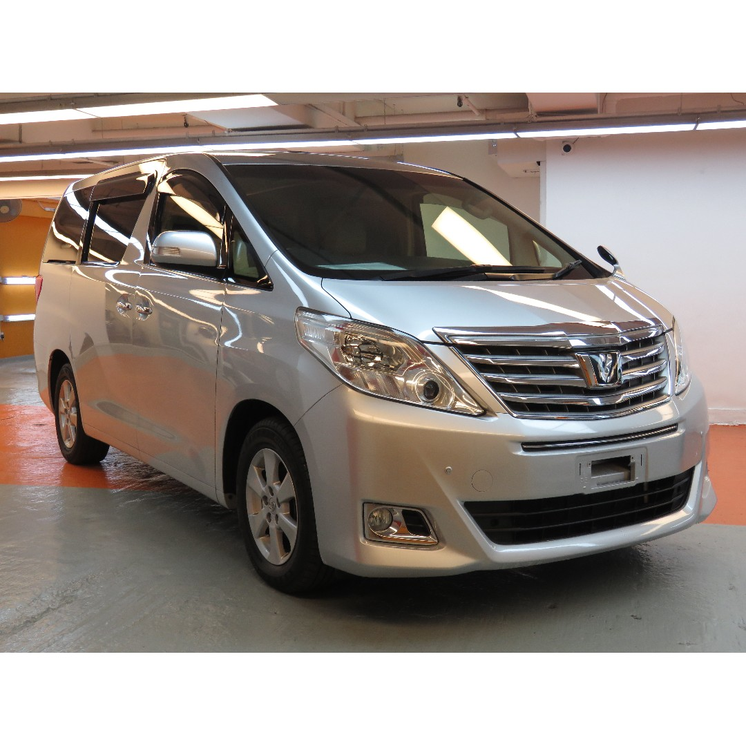 2013 Toyota Alphard 2.4
