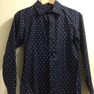 🚚 便宜售 韓國帶回 小版男裝 全新 僅下水 男長袖襯衫