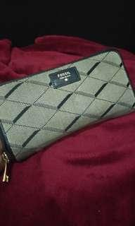 FOSSIL Sydney zip wallet original