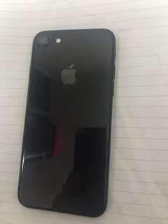 Iphone7 128GB 少花 little srcatched 90%new 亮黑色 black
