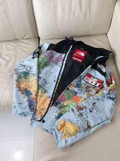 [PO] INS Supreme x TNF North Face Map Expedition Jacket