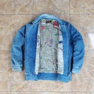 Jaket Jeans Vintage size L