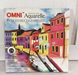 Omni Aquarelle Water Soluble Colour Pencil (authentic)