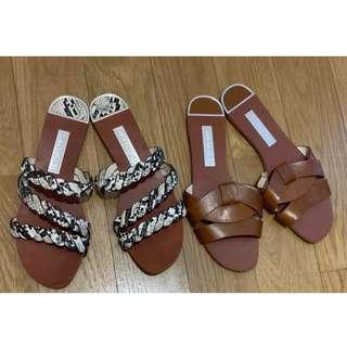 Beautiful Zara Flat Sandals