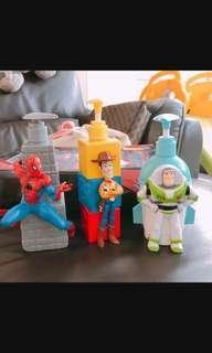 Toysstory body wash bottle (each one)