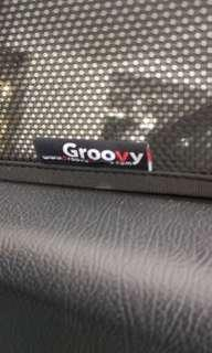 Groovy sunshade for Honda Jazz