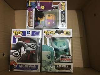 Funko Pop DC Characters