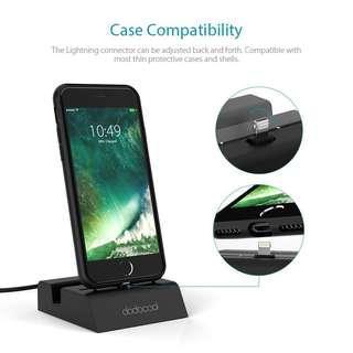 Dodocool iphone/ipod/ipad charging dock + audio jack