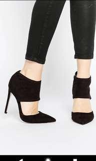 Black Pointed Stiletto Heels