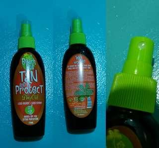 Beach Hut Tan and Protect Dry Oil