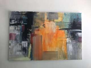 Monmarte oil painting artwork