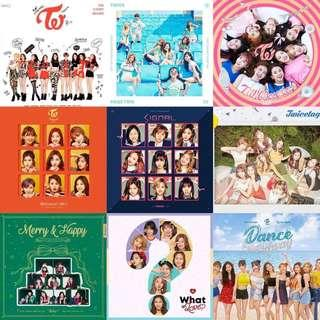 All Twice Albums and Dvd 😀