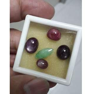 Natural burma ruby for sell at admiralty