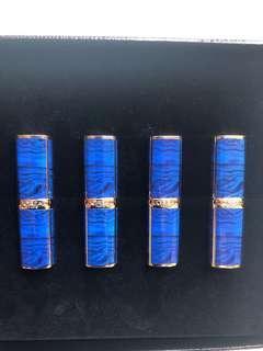 L'Oreal Paris x Balmain Colour Ritchie Lipstick X4