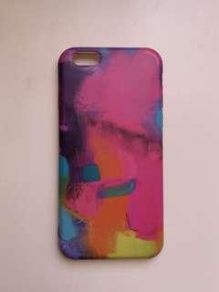 iPhone 6 Painted Strokes Case