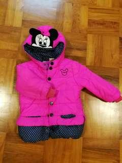 Winter jacket with inner warm layer 2-3yo