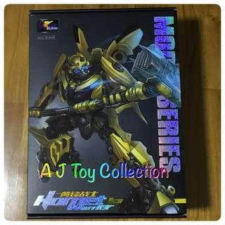 [ In Stock ] Transformers Weijiang MPM-03 Movie Warrior Hornet Bumblebee Oversize With War Hammer