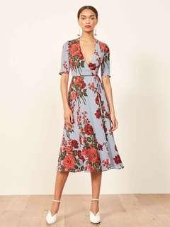 Zara Inspired Floral Wrap