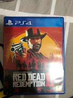 PS4 red dead redemption 2 95%new