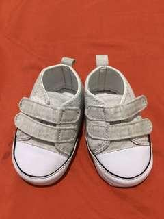 Crib Couture Gray Shoes