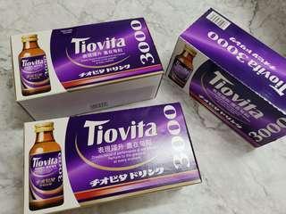 全新 速健能 Tiovita 3盒