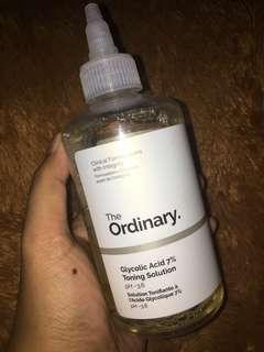 PRELOVE THE ORDINARY TONER GLYCOLIC ACID 7% TONING SOLUTION