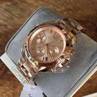 Michael Kors Mini Bradshaw Rose Gold Women's Watch