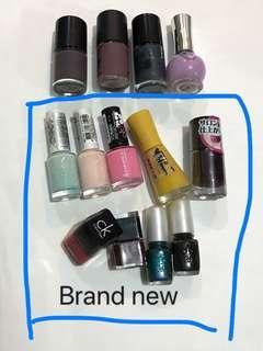 Nail polish 指甲油 $60/13pc