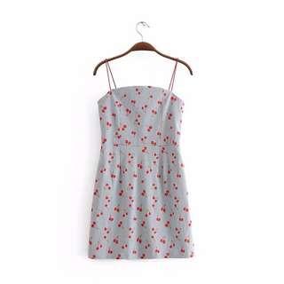 Cherry Babydoll Dress