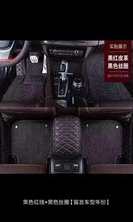 Honda vezel hrv crv suv double layer carpet floor mat