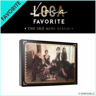 FAVORITE - 3rd Mini Album ' LOCA '