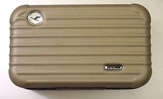 Authentic Lufthansa Rimowa Amenity Kit - Matte Gold